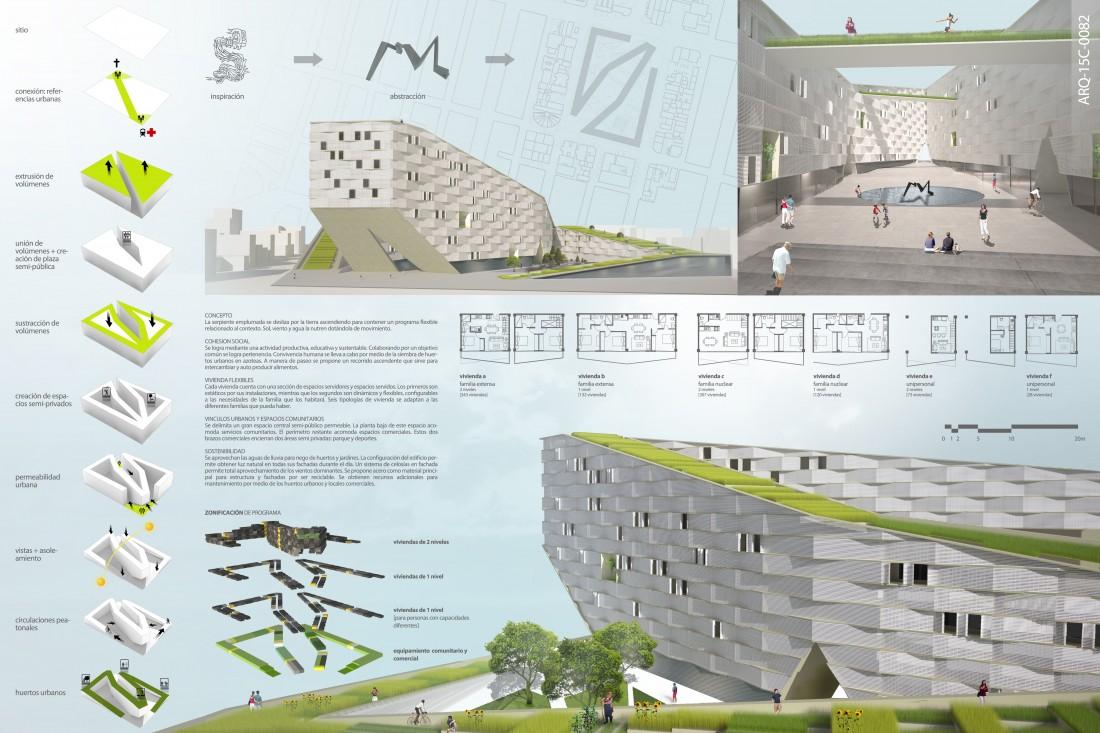 Eparquitectos la serpiente emplumada concurso arquine 15 for Conceptualizacion de la arquitectura